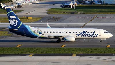 A picture of N531AS - Boeing 737890 - Alaska Airlines - © Alexander Portas