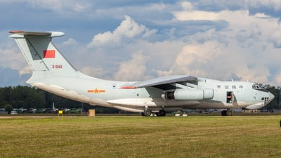 21045 - Ilyushin IL-76MD - China - Air Force