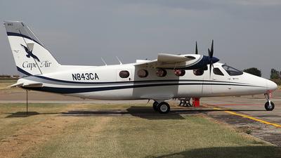 N843CA - Tecnam P2012 Traveller - Cape Air
