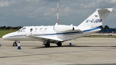 A picture of GCJDB - Cessna 525 CitationJet CJ1+ - [5250648] - © David Oates