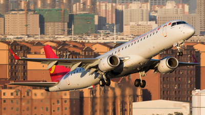 B-3257 - Embraer 190-200LR - Tianjin Airlines