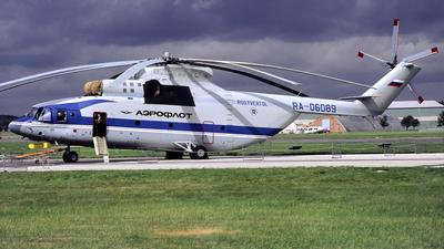 RA-06089 - Mil Mi-26T Halo - Aeroflot