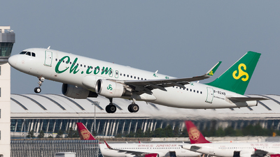 A picture of B8248 - Airbus A320214 - Spring Airlines - © liang TR