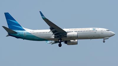 A picture of PKGFP - Boeing 7378U3 - Garuda Indonesia - © Hafit Irawan