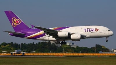 HS-TUF - Airbus A380-841 - Thai Airways International