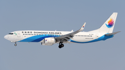 A picture of B7100 - Boeing 7378Q8 - Donghai Airlines - © sunshy0621