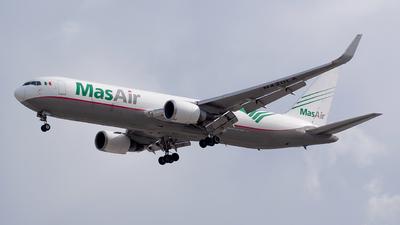 A picture of N420LA - Boeing 767316F(ER) - MasAir Cargo Airline - © Ricardo Muñoz Ramos