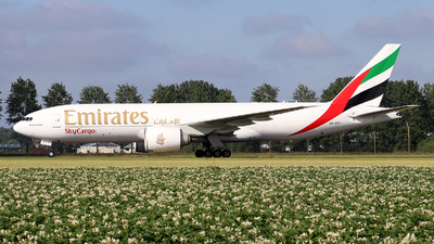 A picture of A6EFI - Boeing 777F1H - Emirates - © Johannes Reichert