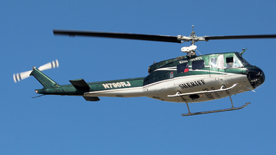 N790RJ - Bell UH-1H Iroquois - United States - King County Sheriff