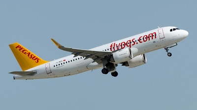 A picture of TCNCG - Airbus A320251N - Pegasus Airlines - © Alp AKBOSTANCI