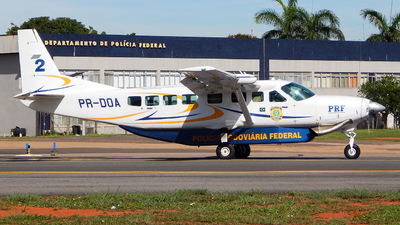 PR-DOA - Cessna 208B Grand Caravan - Brazil - Highways Federal Police