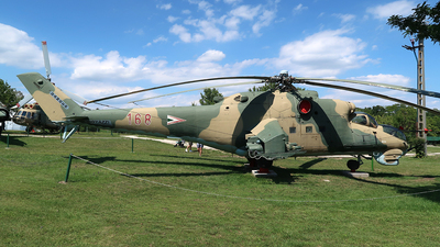 168 - Mil Mi-24D Hind D - Hungary - Air Force