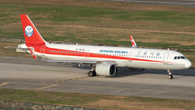 A picture of B307D - Airbus A321271N - Sichuan Airlines - © MICHAELWang