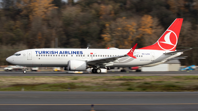 TC-LCB - Boeing 737-8 MAX - Turkish Airlines
