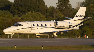 N336XL - Cessna 560XL Citation Excel - Private