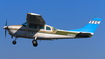 JA3804 - Cessna TU206G Turbo Stationair - First Flying (FFC)