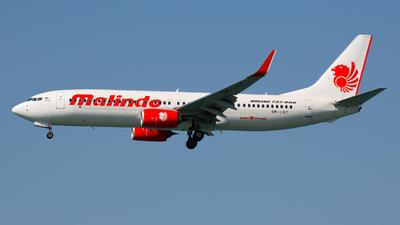 9M-LNY - Boeing 737-8GP - Malindo Air