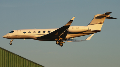 LX-DLF - Gulfstream G650 - Private