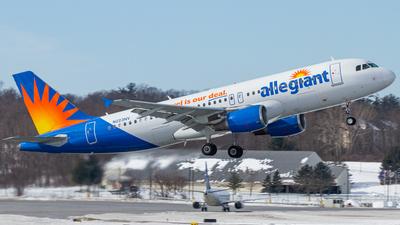 A picture of N223NV - Airbus A320214 - Allegiant Air - © Elliott F Martin