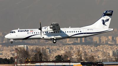 EP-ITJ - ATR 72-212A(600) - Iran Air