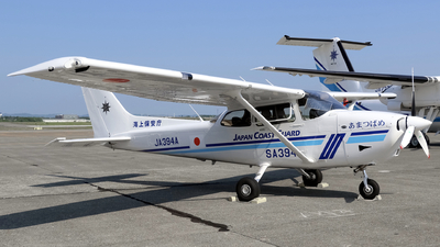 JA394A - Cessna 172S Turbo Skyhawk JT-A - Japan - Coast Guard