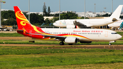 A picture of B1373 - Boeing 73784P - Hainan Airlines - © w9r