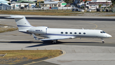 N999LX - Gulfstream G-V - Private
