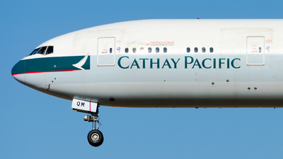 B-KQM - Boeing 777-367ER - Cathay Pacific Airways