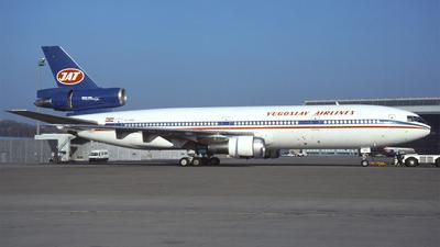YU-AMD - McDonnell Douglas DC-10-30 - JAT Yugoslav Airlines