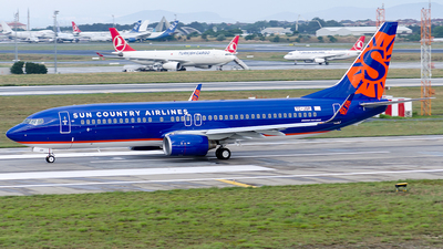 A picture of TCJGP - Boeing 7378F2 - [34414] - © Alp AKBOSTANCI
