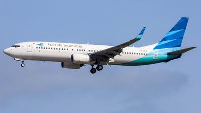 A picture of PKGFW - Boeing 7378U3 - Garuda Indonesia - © Jeremy Takigawa