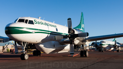 C-GSKR - Convair CV-580 - Canada - Government of Saskatchewan