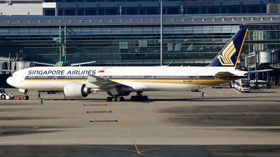 9V-SWH - Boeing 777-312ER - Singapore Airlines