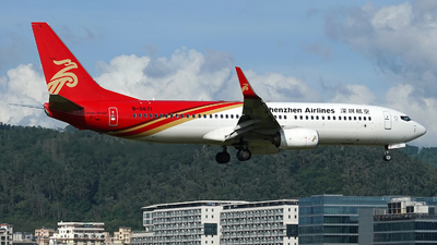 A picture of B5671 - Boeing 73787L - Shenzhen Airlines - © Taohang Zhou