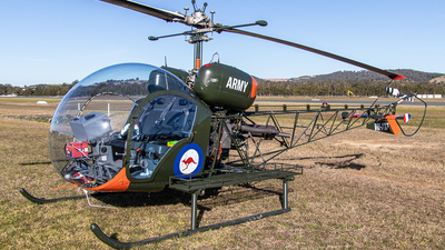 A picture of VHXTF - Bell 47G3B1 Trooper - [6659] - © Clinton_vern