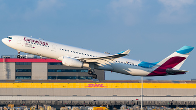 A picture of OOSFL - Airbus A330343 - Eurowings - © Gaetan De Meyer