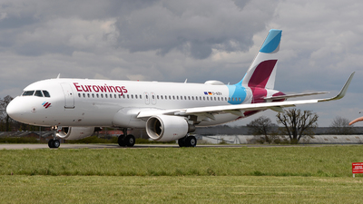 A picture of DAIZV - Airbus A320214 - Eurowings - © David Oates