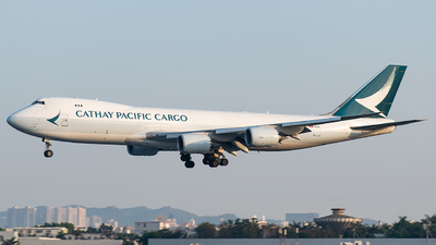 A picture of BLJA - Boeing 747867(F) - Cathay Pacific - © CHenFeng_XMN