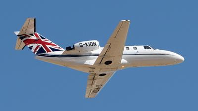 A picture of GKION - Cessna 525 CitationJet CJ1 - [5250292] - © Toni Marimon