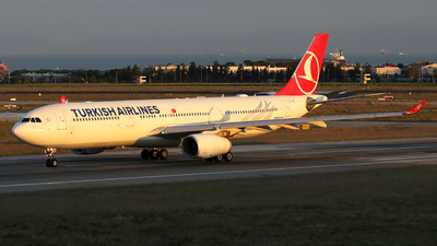 TC-JNP - Airbus A330-343 - Turkish Airlines