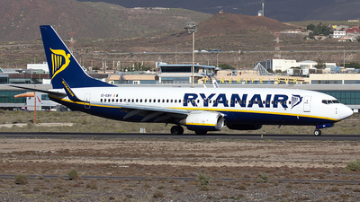 EI-EBV - Boeing 737-8AS - Ryanair