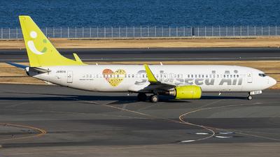 JA801X - Boeing 737-81D - Solaseed Air