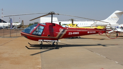 ZS-HWO - Enstrom 280FX Shark - Safomar Aviation Operations