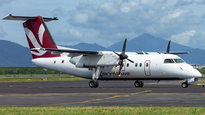 A picture of VHQQB - De Havilland Canada Dash 8100 - Skytrans - © David Tweddle