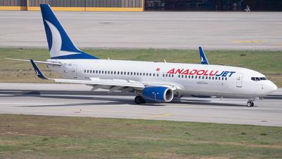 TC-JKU - Boeing 737-8Q8 - AnadoluJet