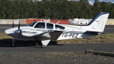 A picture of TGPEZ - Beech 55 Baron - [TC1859] - © Juan Manuel Galvez