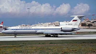 RA-85634 - Tupolev Tu-154M - Aeroflot
