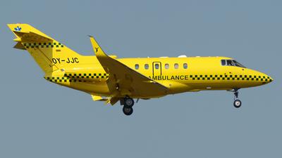 OY-JJC - Hawker Beechcraft 800XP - JoinJet