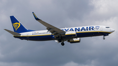 A picture of EIDWO - Boeing 7378AS - Ryanair - © Saúl Alonso