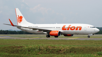 PK-LJY - Boeing 737-8GP - Lion Air